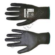 Védőkesztyű szerelőkesztyű A120 fekete 9 L