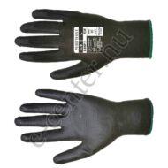Védőkesztyű szerelőkesztyű A120 fekete 7 S