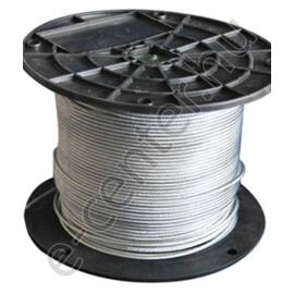 Drótkötél 4 mm DIN3055 6x12 horganyzott (100m/tekercs)