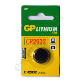 Elem GP gombelem CR2032 lithium