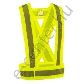 láthatósági vállpánt sárga