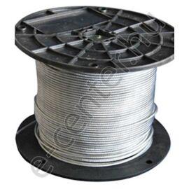 Drótkötél 5 mm DIN3055 6x12 horganyzott (100m/tekercs)
