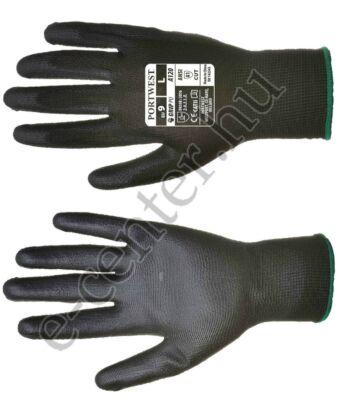 Védőkesztyű szerelőkesztyű A120 fekete 8 M