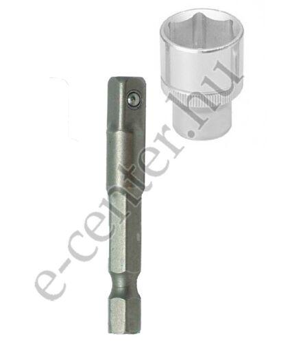 Dugókulcs szár 1/4 hatlap > 1/4 négylap 50 mm adapter Abraboro