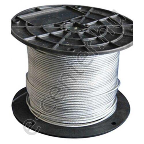 Drótkötél 4mm DIN3055 6x12 horganyzott