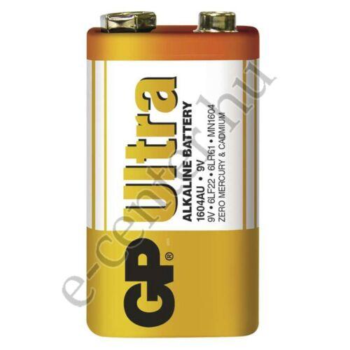 Elem GP Ultra alkáli 9V 6LR61 1604AU