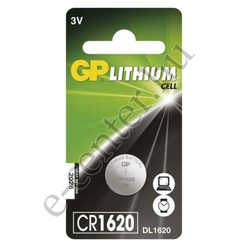Elem GP gombelem CR1620 lithium