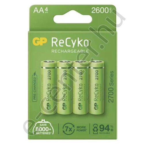 Akkumulátor GP AA 2700 mA ceruza 1db Recyko 1 db