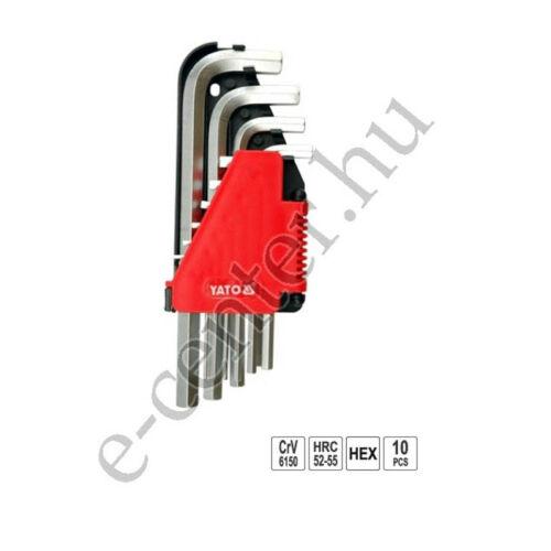 Imbuszkulcs készlet 2,0-12mm Yato 0508