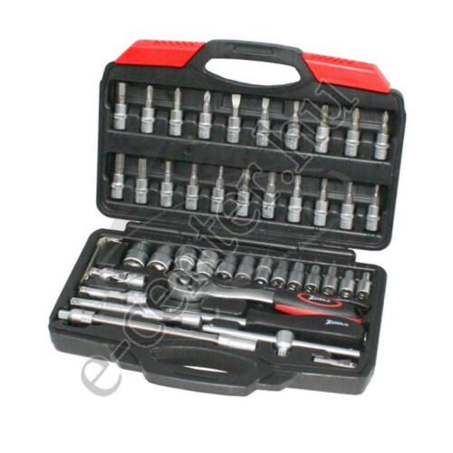 Dugókulcs és bit készlet 1/4 46r. Z-tools