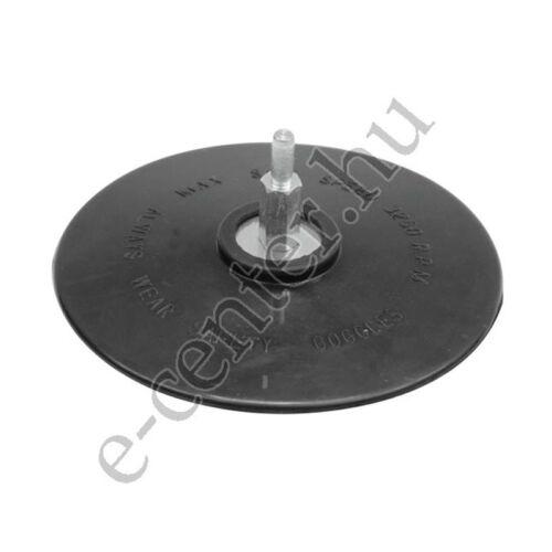 Rugalmas csiszolótányér 125 mm fíbertárcsához csapos 08314