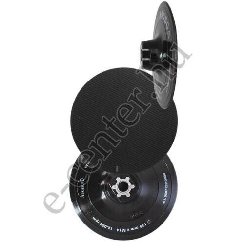 Tépőzáras gumitányér, csiszolótányér 125mm Abraboro