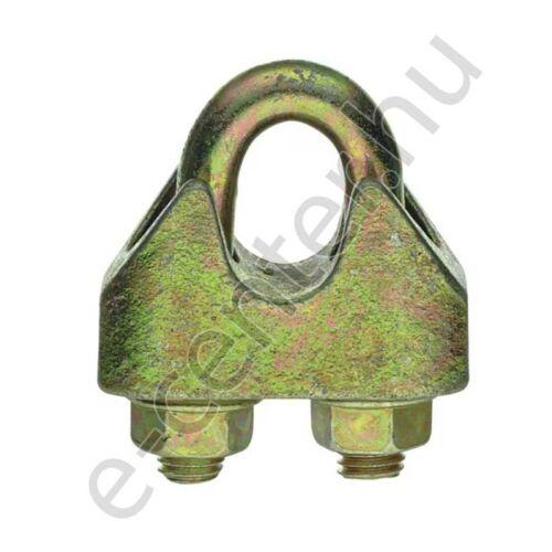 Kötélszorító bilincs  6mm DIN1142 nehéz