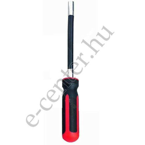 Csavarhúzó nyeles dugókulcs  7x500/615mm flexibilis