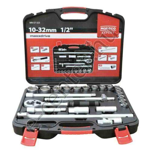 Dugókulcs készlet 1/2 10-32mm Modeco 57323