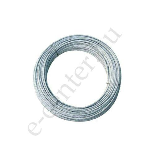 Rozsdamentes drótkötél 2 mm sodrony