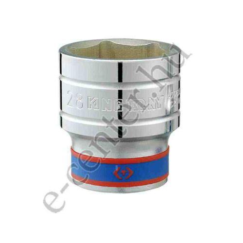 Dugókulcsfej 1/2 22 mm 6 hatlap King Tony 433522MR