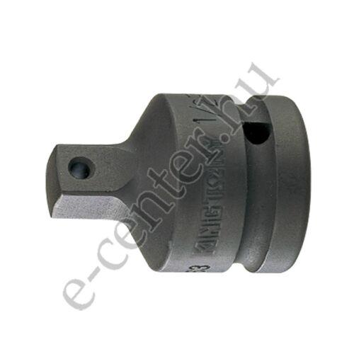 Adapter gépi dugókulcs átalakító 1/2-3/8 golyós King Tony 4863P
