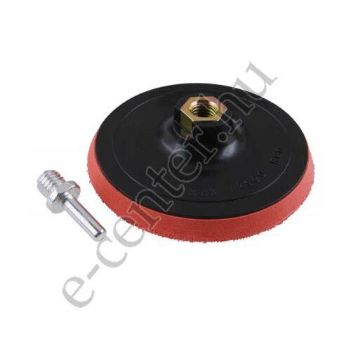 Tépőzáras csapos 125mm tányér 22063