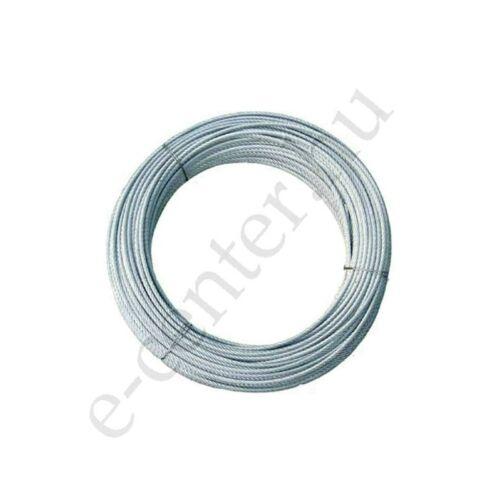 Rozsdamentes drótkötél 3 mm sodrony