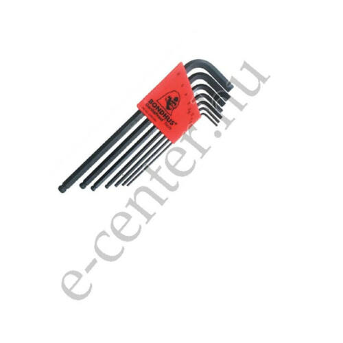 Imbuszkulcs készlet 1,5-6 Bondhus 10992 gömb hosszú