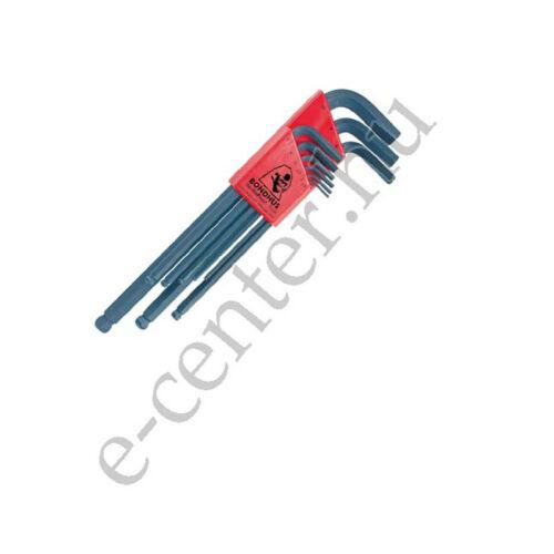Imbuszkulcs készlet 1,5-10 hosszú gömvégű Bondhus 10999